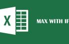Συνδυασμoς Max και IF